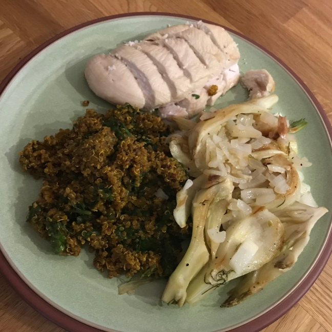 Quinoa Pilaf with fennel